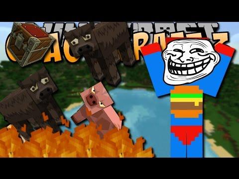 TROLLEN BIS EINER WEINT - Minecraft CHAOS CRAFT 3 #033