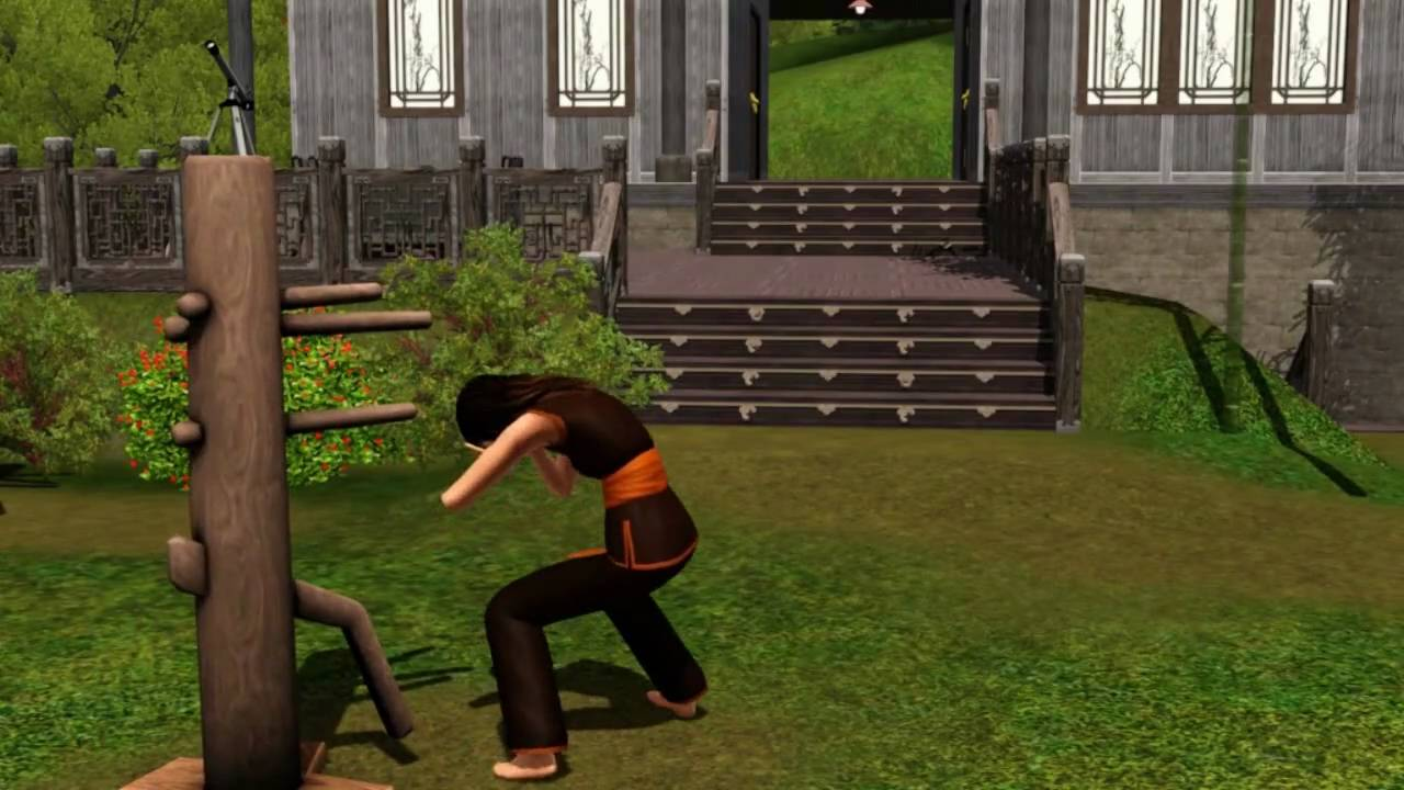 the sims 3 world adventures my chinese kung fu youtube
