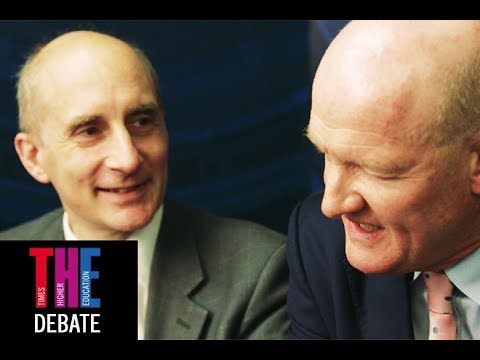 THE debate: Andrew Adonis and David Willetts