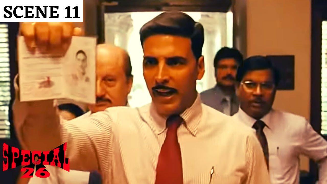 Download Special 26 | स्पेशल 26 | Scene 11 | Raid Day | Manoj Bajpayee | Akshay Kumar | Anupam Kher