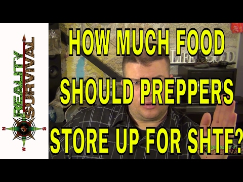 How Much Food Should I Store Up?
