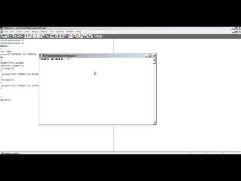 Uso de la instrucción do while para validar el ingreso de números por el teclado
