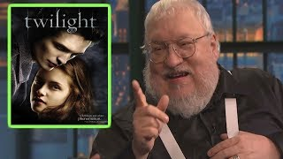 George RR Martin on Vampires, Throws Shade at Twilight