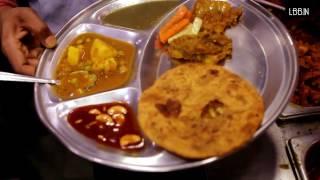 eating the streets dilli 6 edition kannaiyalal durga durga prasad parothe wala