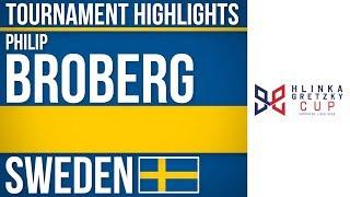 Philip Broberg | Hlinka Gretzky Cup | Tournament Highlights