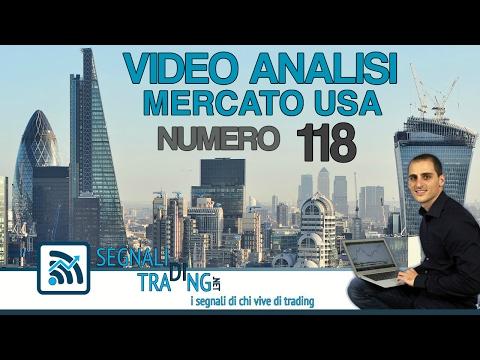 Analisi Tecnica n.118. Economia e trading online sulla borsa americana (Wall Street)