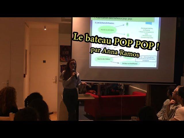Le bateau POP POP !! Par Anna Ramos