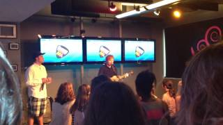 The A Team - Ed Sheeran in the Dunkin Donuts Music Lounge
