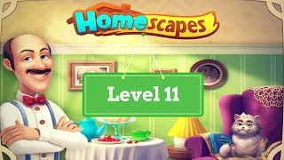 Homescapes Level 11 - How to complete Level 11 on Homescapes