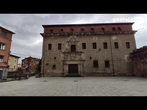 Cuatro palacios vacíos en Vitoria Gasteiz