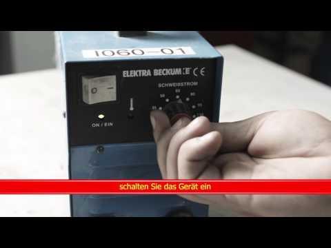 Video Kurzfilm Schweißgerät