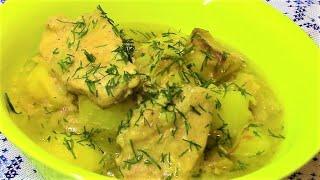 Тушеное мясо с картофелем .Вкусно , просто ум отъешь !