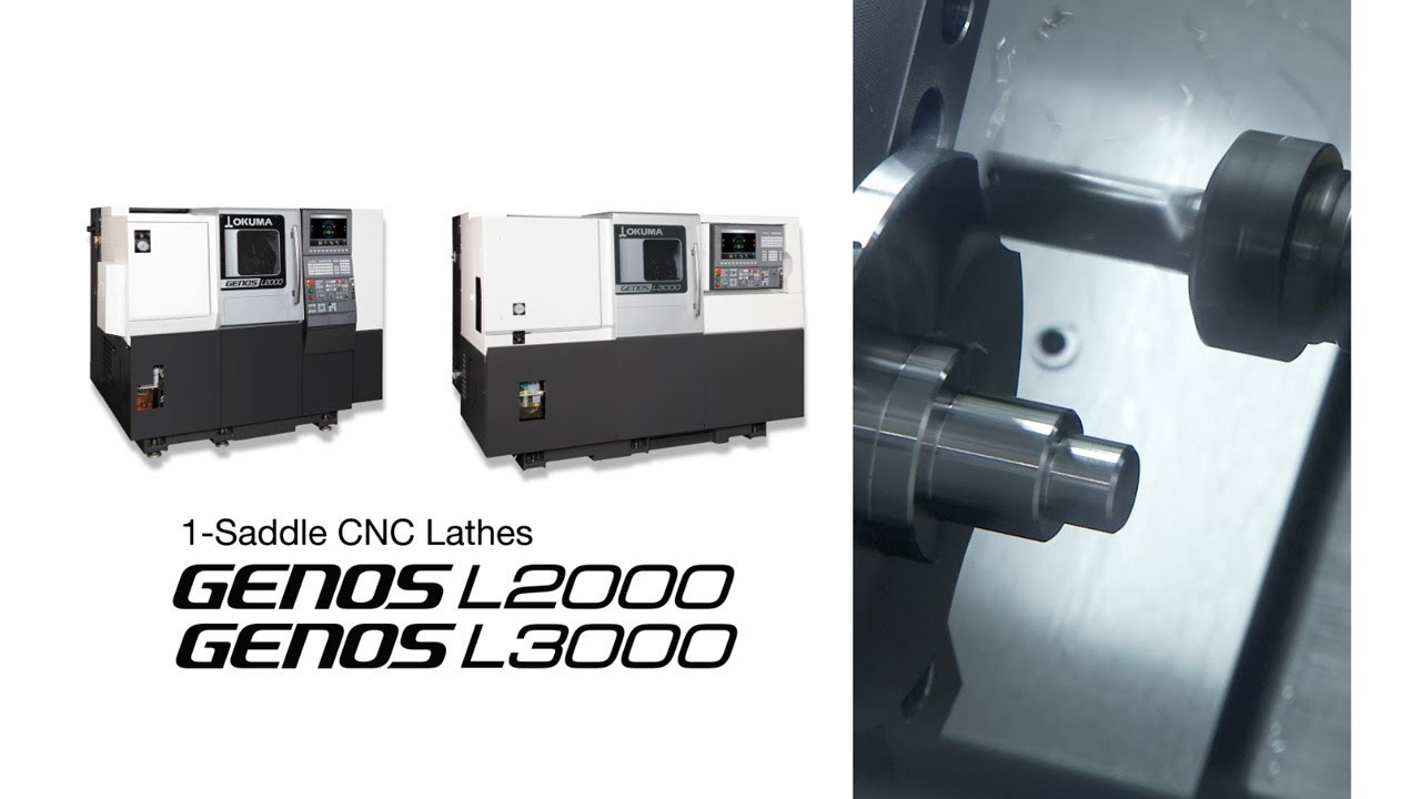 1-Saddle CNC Lathes GENOS L2000/GENOS L3000【OKUMA CORPORATION JAPAN】