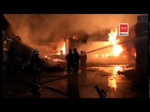 29.02.12, Incendio Nave Serranillos del Valle.mpg