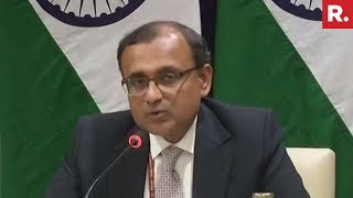 Ministry Of External Affairs Holds Press Briefing In New Delhi | #SaudiBacksIndia