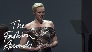 Gwendoline Christie   British Style Award - Red Carpet Ambassador   British Fashion Awards 2015
