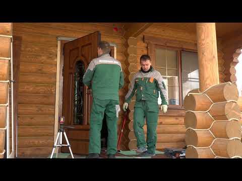 Установка двери с терморазрывом в Подмосковье