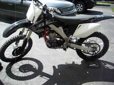 2008 Honda CRF250R LIMITED EDITION Walk Around - YouTube
