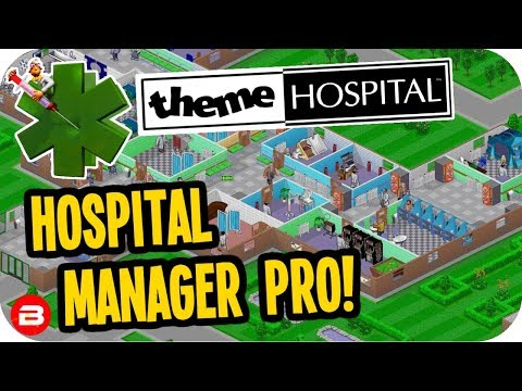 Theme Hospital: HOSPITAL MANAGER PRO! #4 - Let's Play Theme Hospital Tycoon
