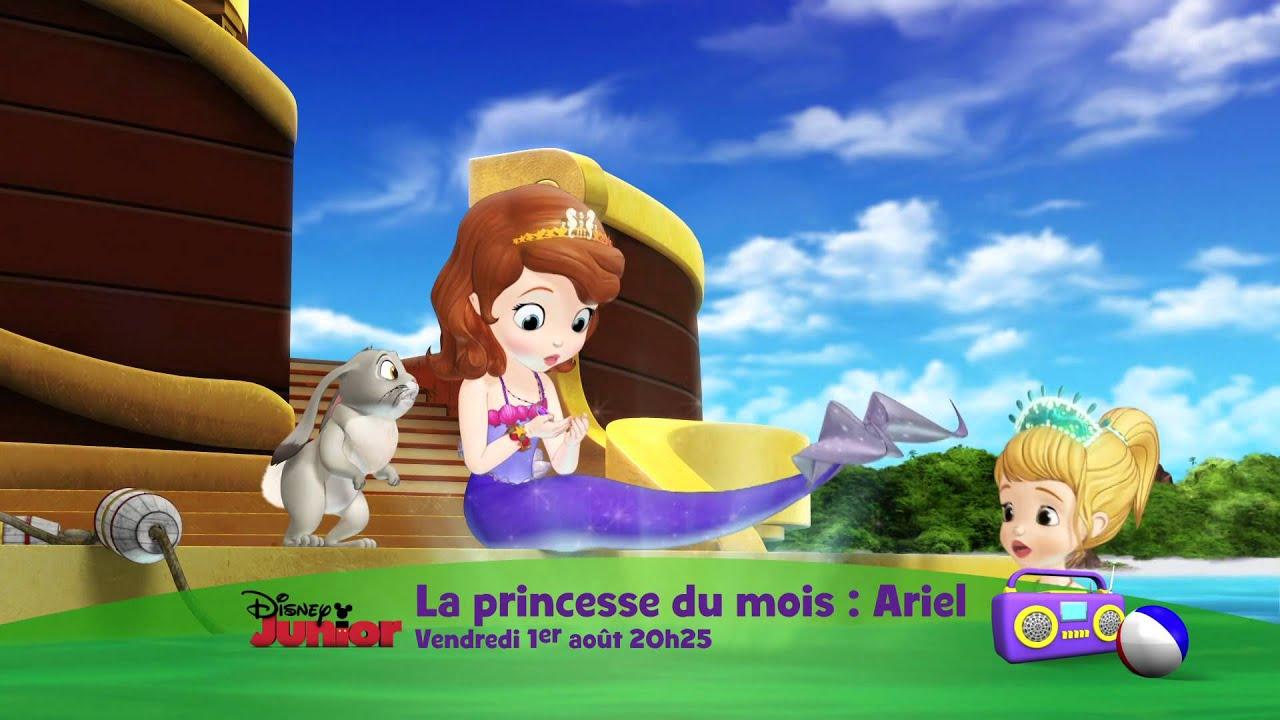 La princesse du mois ariel vendredi 1er ao t 20h25 - Princesse sofia et ariel ...