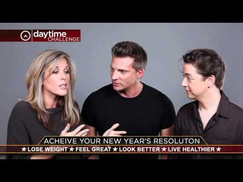TheDaytimeChallenge.com (Steve Burton + Laura Wright + Bradford Anderson) Join the 90 Day Challenge!
