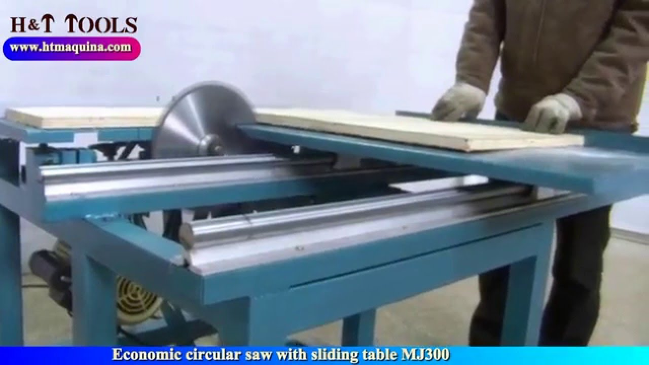 Ecomonic Circular Saw With Sliding Table Mj300