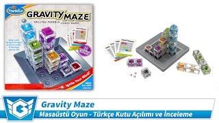 Gravity Maze (Zeka Oyunu) | Kutu Açılımı ve İnceleme | Türkçe | Masaüstü / Kutulu Oyun (Board Game)
