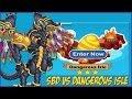 Social Empires - SBD vs Dangerous Isle 3 Stars (BOSS)