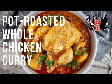 Pot Roasted Whole Chicken Curry | Everyday Gourmet S9 EP24