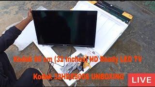 Kodak 80 cm 32 Inches HD Ready LED TV Kodak 32HDX900S unboxing