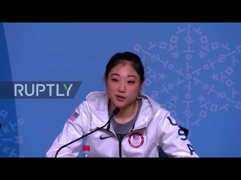 South Korea: 'No guts, no glory' - first US female skater to land triple axel at Olympics