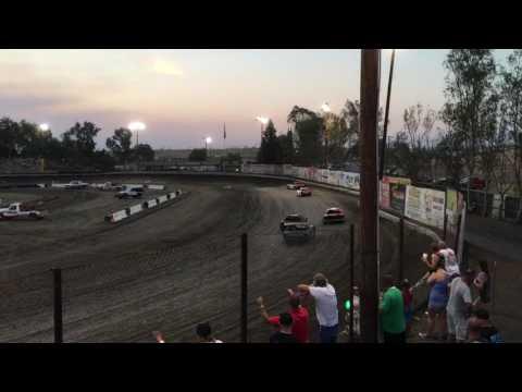 Bakersfield Speedway 7/8/17 Hobby Heat 2
