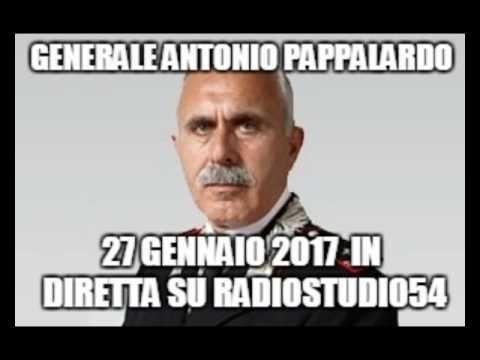 Generale Antonio Pappalardo in diretta radio , 27-01-2017