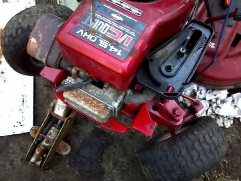Lowes Mtd And Murray Riding Mower Update