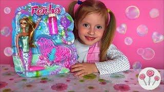 🍭 Русалка Кукла пускает мыльные пузыри распаковка mermaid doll bubbles