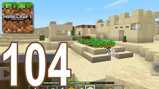 Minecraft: Pocket Edition - Gameplay Walkthrough Part 104 - Desert Village (iOS, Android)