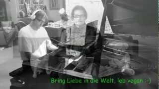 """Rosenstolz """"Ausgesperrt bei Nacht"""" Album Herz Piano Playback"""