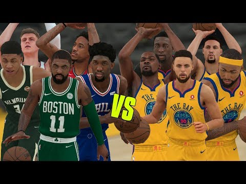 2019 Golden State Warriors vs Eastern Conference All Stars! | NBA 2K18 Challenge |
