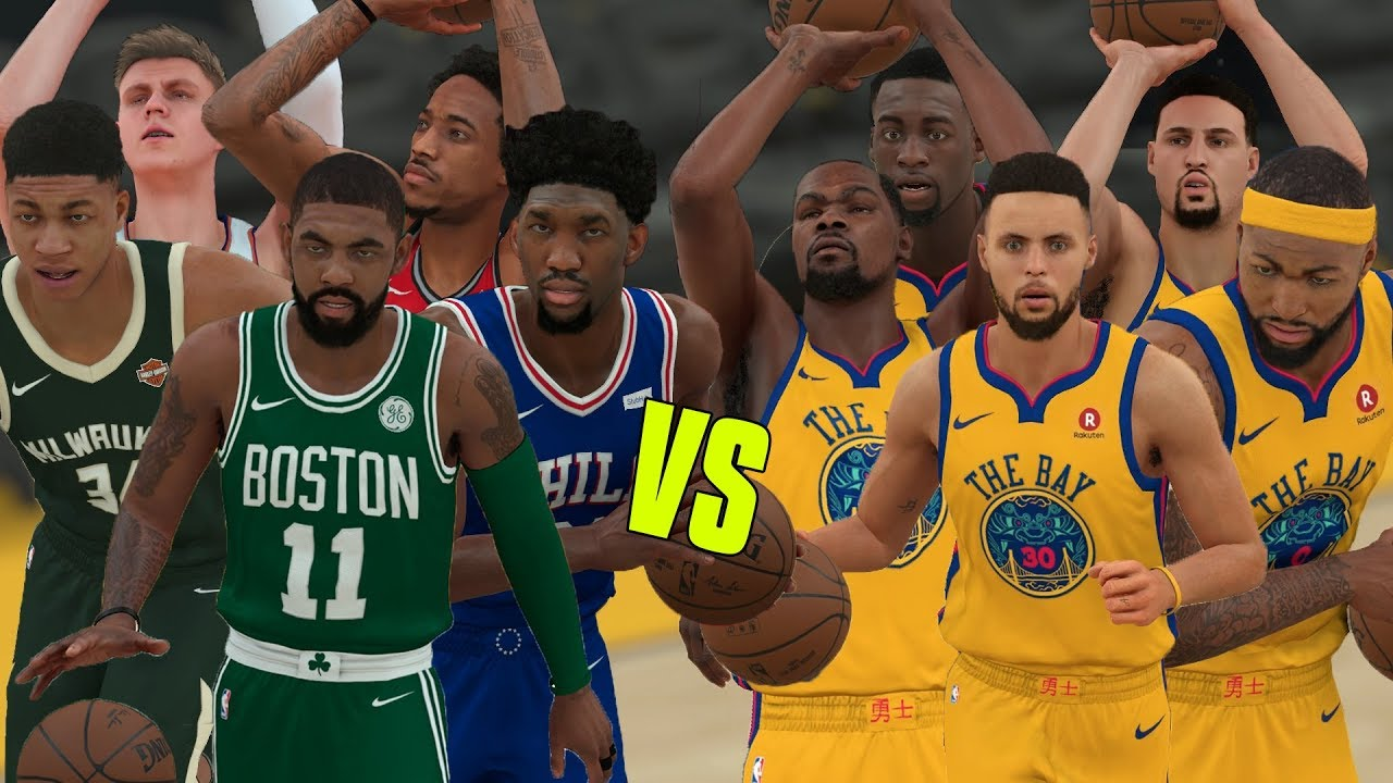 2019 Golden State Warriors Vs Eastern Conference All Stars