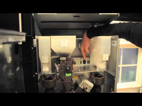 Filling the Product Canisters - Tutorial Video - Coffee Machine Supplier Glasgow Scotland UK