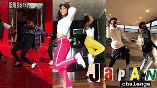 BEST OF Japan Challenge Dance Compilation #japanchallenge   Famous Dex - Japan