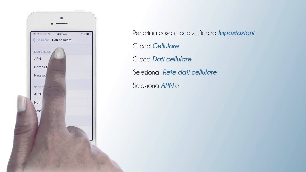 network dati cellulare su iphone 6 Plus