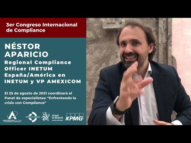 Néstor Aparicio te invita al 3er Congreso AMEXICOM