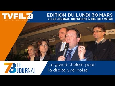7/8 Le Journal – Edition du lundi 30 mars 2015