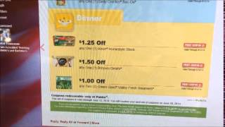 Red Plum coupons by mail