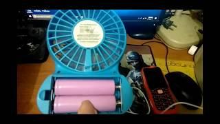 Kipas Angin power bank Portable Banttery Fan