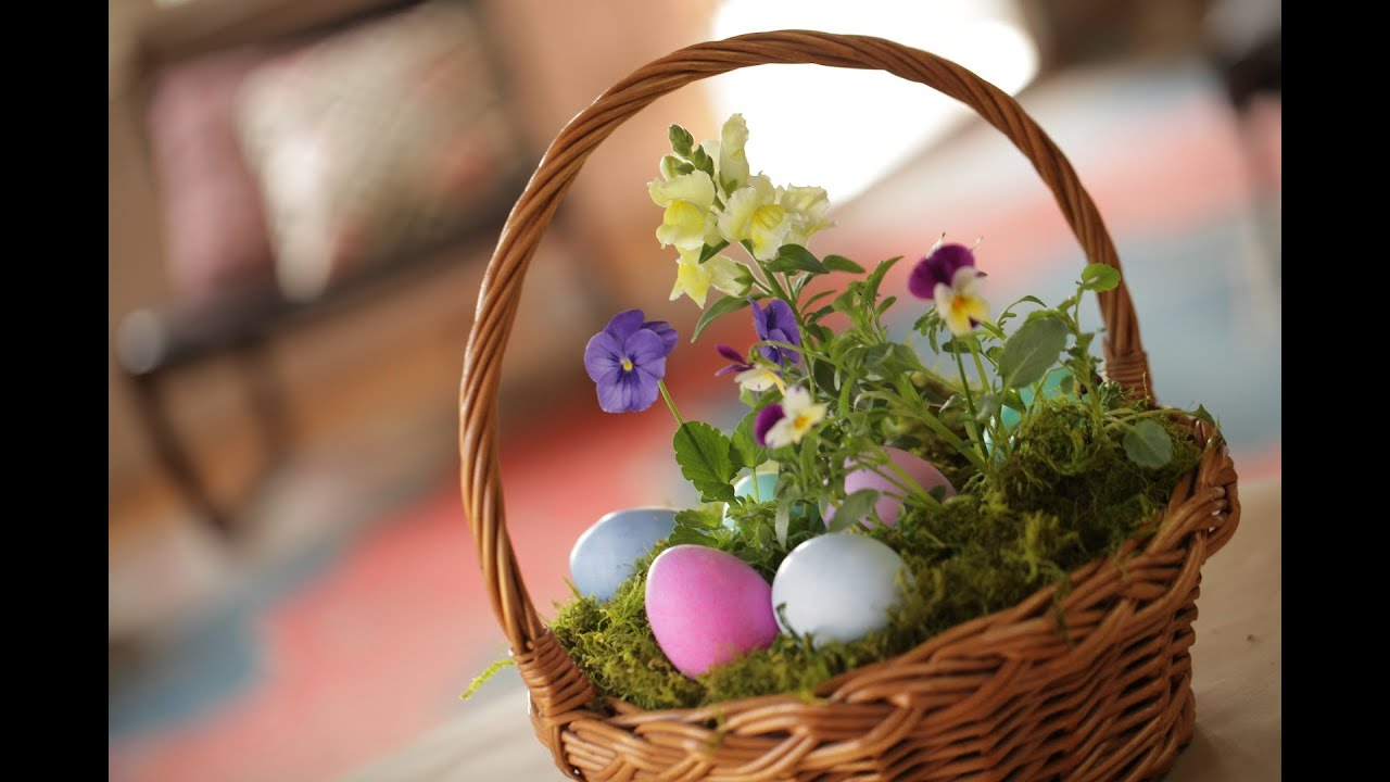 Roberts living easter basket youtube roberts living easter basket negle Images