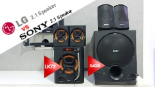 Review Sony D20 Speaker Vs Lg Lk72