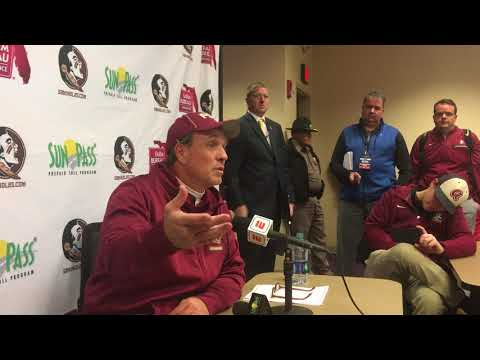 Jimbo Fisher talks loss at Clemson