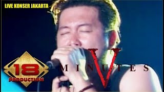 """Download lagu KONSER ~ KERENNYA! """" FIVE MINUTES ~ SELAMAT TINGGAL (LIVE JAKARTA 26 MARET 2016)"""
